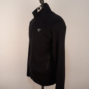 ARC'TERYX Kyanite Black Full Zip Mens Jacket Large